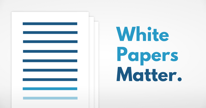 White papers matter.